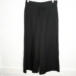 Eileen Fisher Black Organic Cotton  Pants XS Small